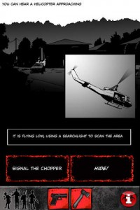 ZDAY Survival Simulator App Screen 1